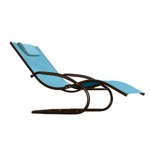 Vivere Wave Patio Lounger   Curves Are In, As Demonstrated By The Vivere  Wave Patio Lounger . The Shapely Design Of This Lounge Chair Makes For A  Head Back, ...
