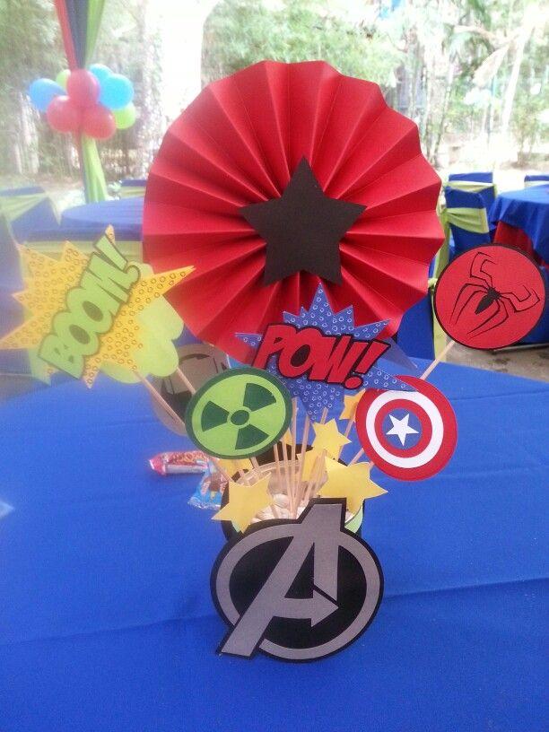 Centro de Mesa Avengers