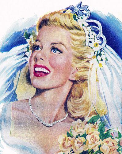 June 1948 Bride
