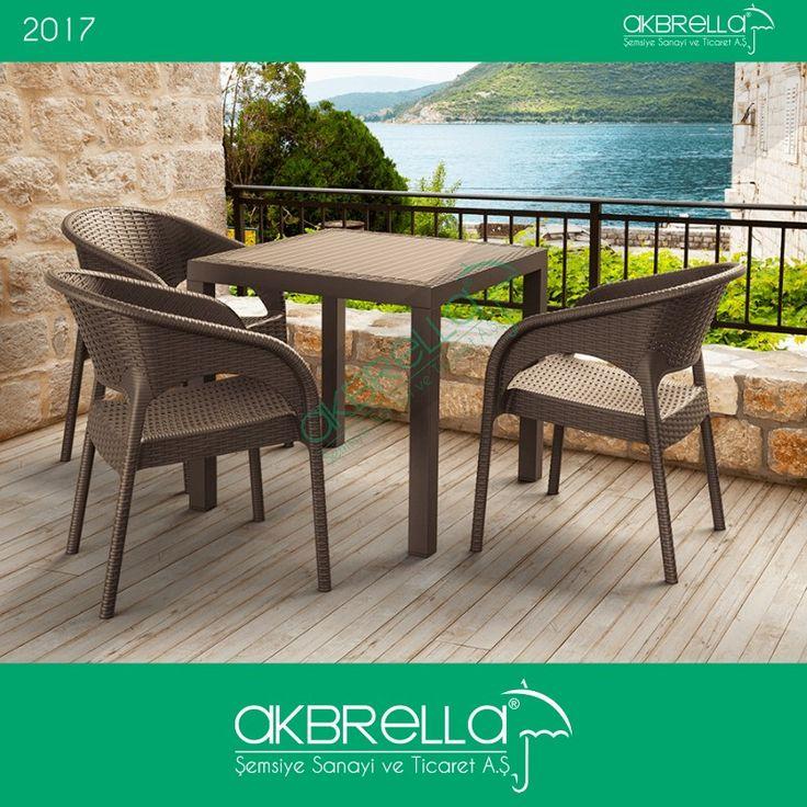 Zevk ve isteklerinizi birleştireceğiniz ürünler Akbrella'da. Dış mekan mobilyalarımızdan rattan masa ve sandalyelerimiz için internet sitemizi ziyaret edin. #rattanmobilya #rattandışmekan #bahçemobilyası