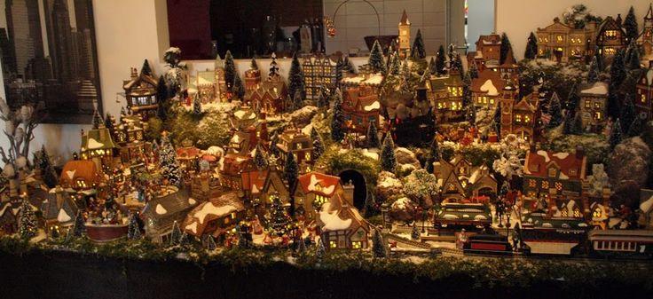 Village de Noël de Jan Kol, 2012.