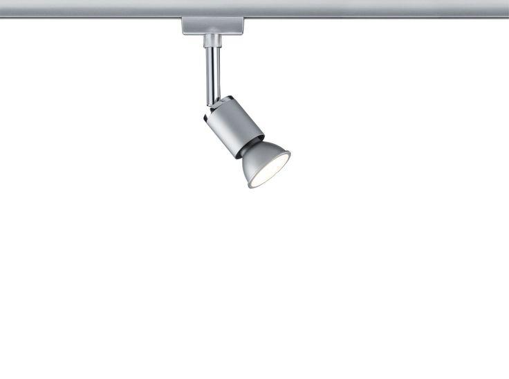 Paulmann URail Spot Pure II Chrom matt / Weiß ohne Leuchtmittel, max. 10W GU10 Volle Flexibilität bei der Auswahl des Leuchtmittels bietet Ihnen der URail Spot Pure II. Entscheiden Sie sich für eine beliebige Reflektorlampe mit einer...