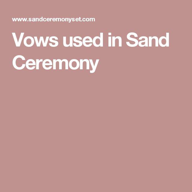 Sample Wedding Ceremony Scripts: Best 25+ Wedding Sand Ceremony Ideas On Pinterest