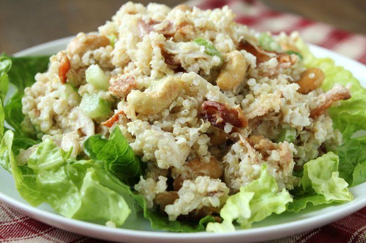 Quinoa & Cashew Chicken Salad
