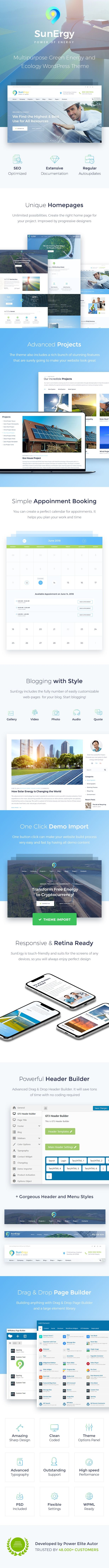 Sunergy – Multipurpose Green Energy and Ecology WordPress Theme #Green, #Multipurpose, #Sunergy, #Energy