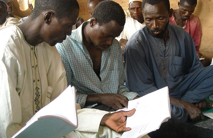 In Niger, Bible Society has begun literacy classes to combat illiteracy rates, which are as high as 92 percent in rural areas.