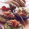 Southwestern Black Bean Burgers  As seen in the The Best American Recipes 1999  serve with a Different Greek Salad