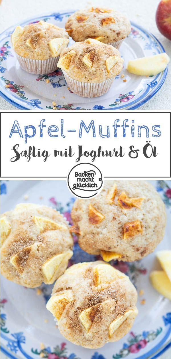 Apfel-Muffins
