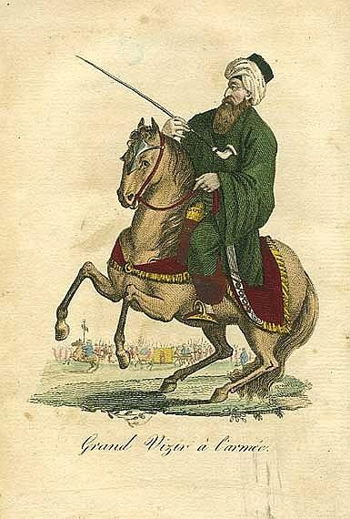 Grand-Vizier, Ottoman.