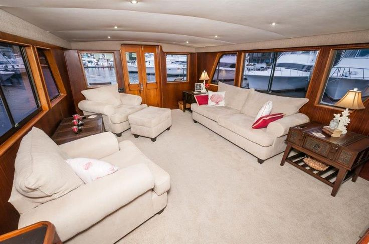 View the 1984 53' HATTERAS Motoryacht on HMY Yachts Today!
