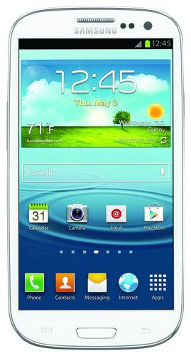 Unlocked Samsung - Galaxy S III 4G Cell Phone - White