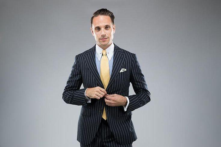 Style Defined: Pin Collar Dress Shirts & Collar Bars - He Spoke Style