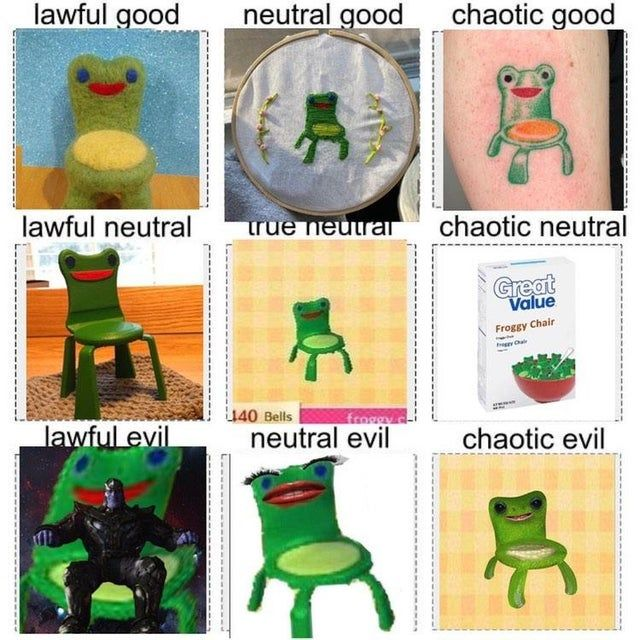 I Know It S Late But Here Is Froggy Chair Alignment Chart