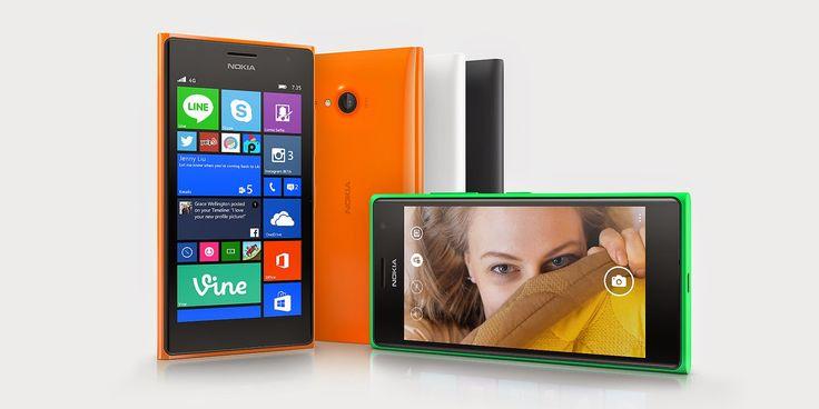 Nokia Lumia 735 - Spesifikasi Kelebihan Kekurangan