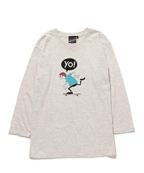 BEAMS Tの【SPECIAL PRICE】Yusuke Hanai / YO 7分袖 です。こちらの商品はBEAMS Online Shopにて通販購入可能です。