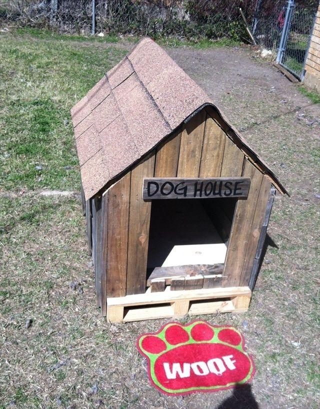 15 Best Dog House Ideas Images On Pinterest Pallets Diy