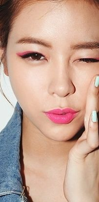 Double your eyeliner. | 19 Awesome Eye Makeup Ideas For Asians ||| Not Asian but gonna try it ~~