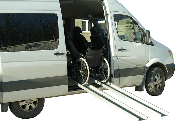 handicap ramps for minivans. telescoping portable wheelchair ramps make vacation nature trips easy and fun for all handicap minivans c