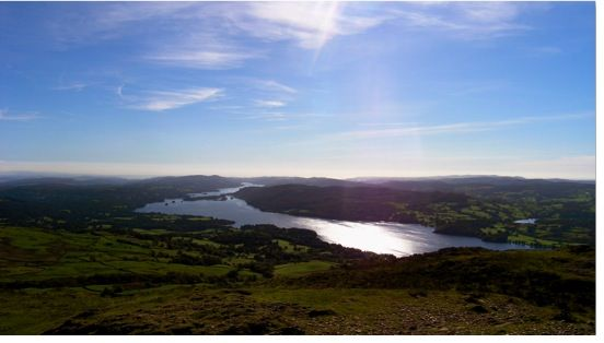 Windermere from Wansfell - my first Lakeland fell