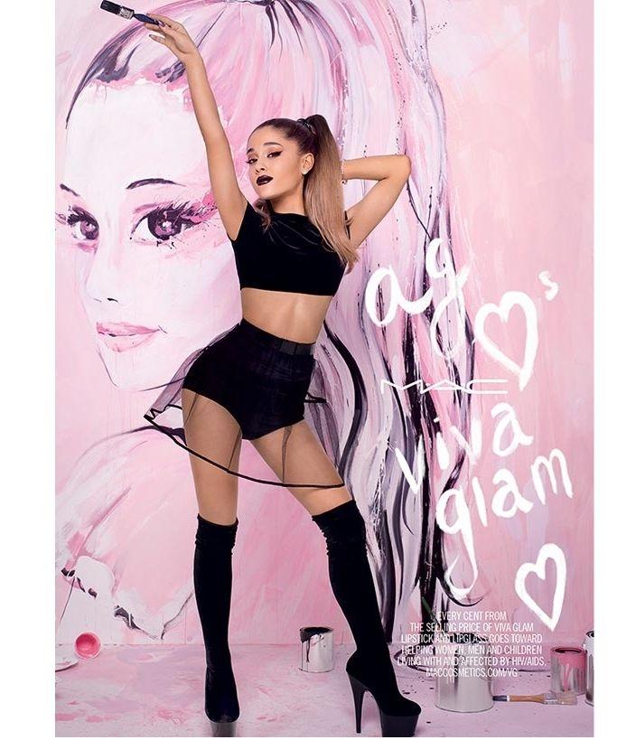 #ArianaGrande #MAC #VivaGlam