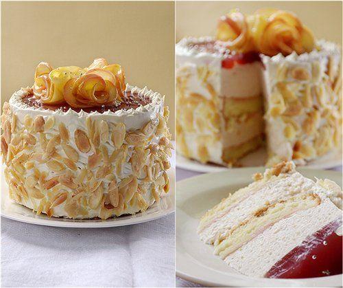 Торт с зефирным кремом - Pan Fairy