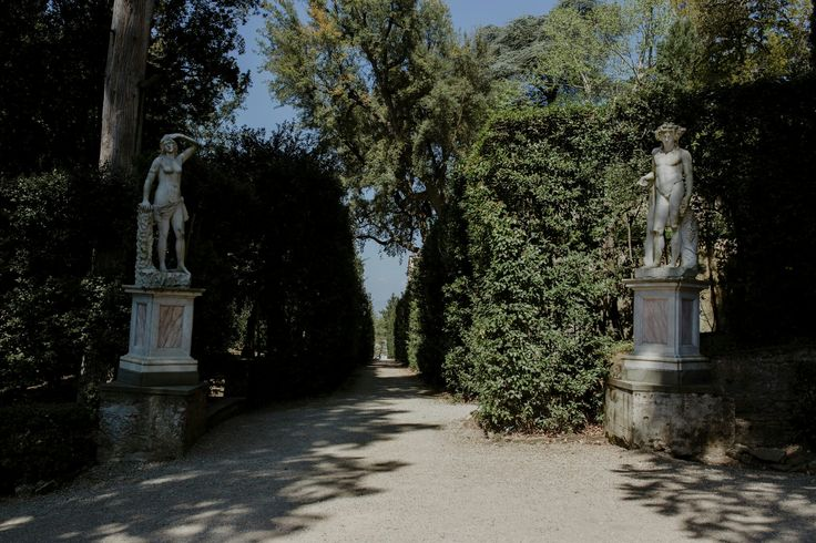 The Boboli Gardens. Florence, Tuscany. Italy, April 2017.