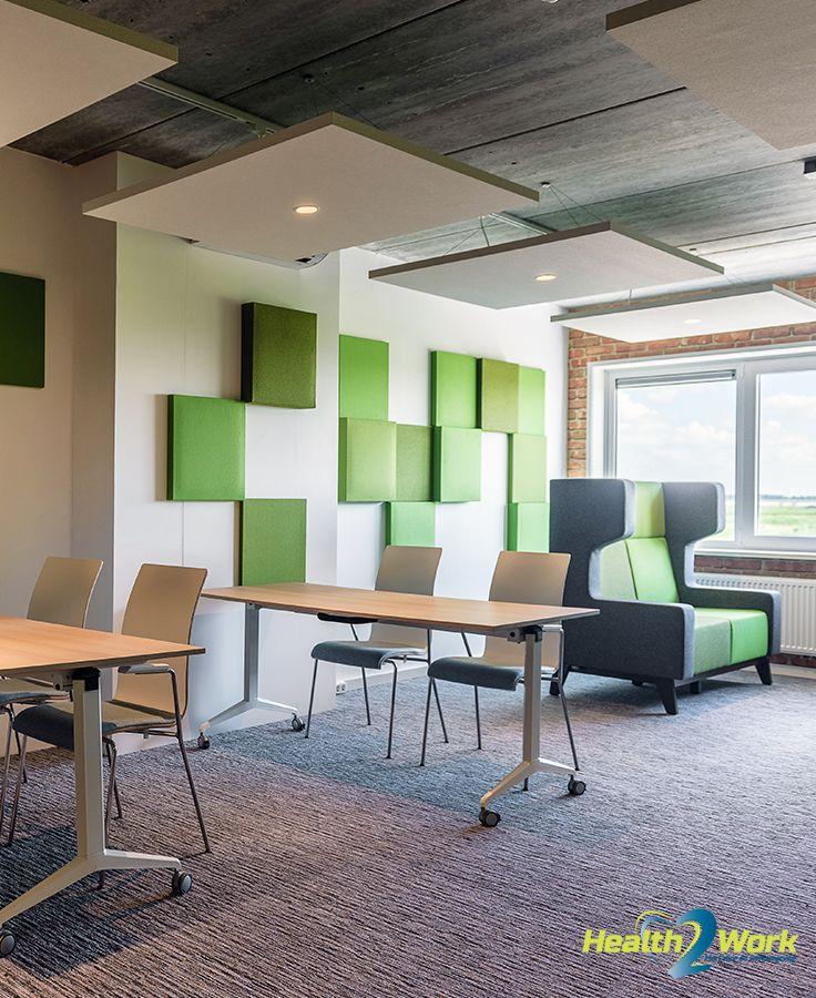Akoestische panelen verbeteren niet alleen de akoestiek maar ook de uitstraling van een ruimte