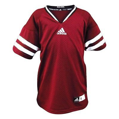 Replica Maroon Adidas Youth Football Jersey