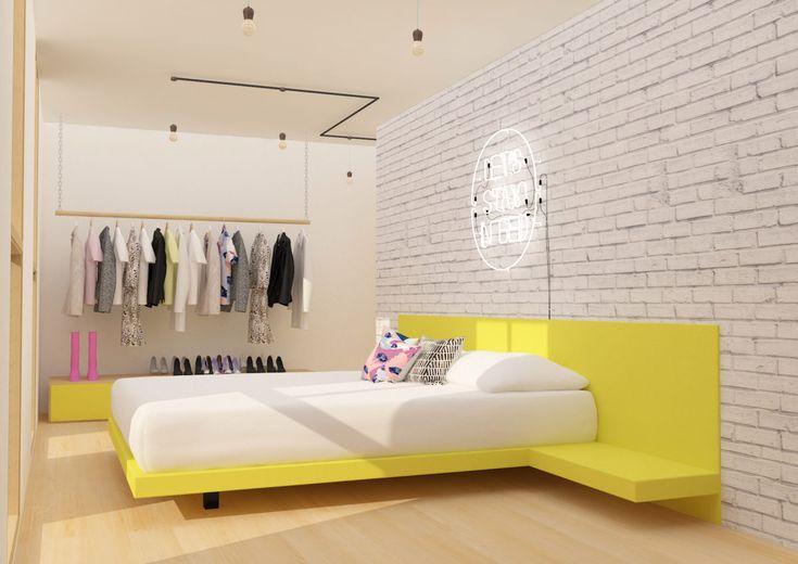 Yellow module   Small loft - https://interiordesign.io/yellow-module-small-loft/