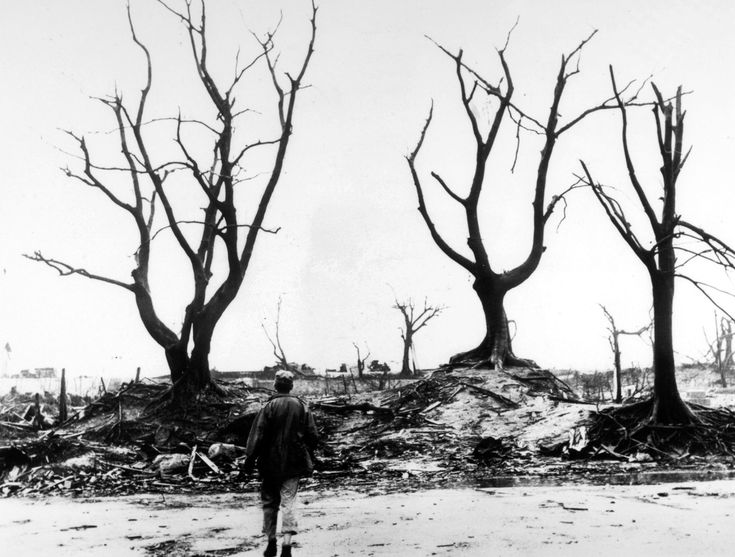 Hiroshima (John Hersey): A hundred thousand people were killed by the atomic bomb. Survivors wonder why they lived when so many others died.