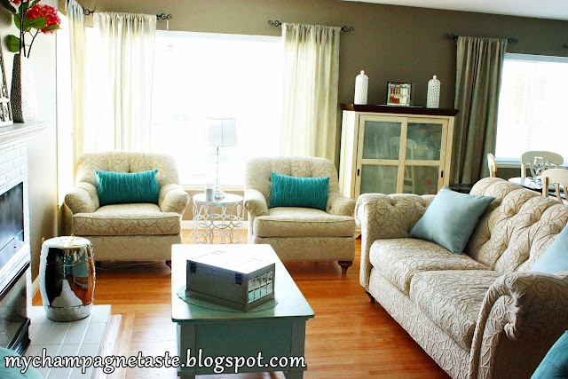 33 best living room love images on pinterest decorating ideas home ideas and homemade home decor Black and turquoise living room