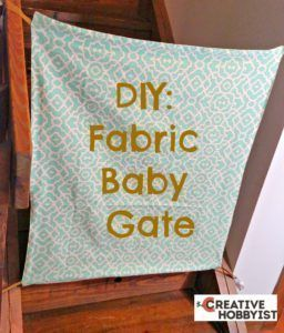 1000 Ideas About Fabric Baby Gates On Pinterest Baby
