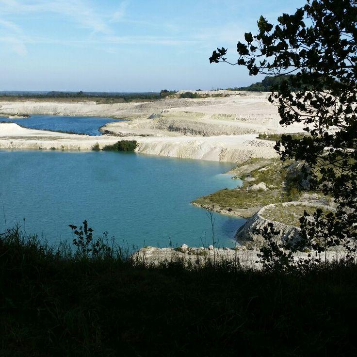 Faxe Quarry Denmark Blue lake