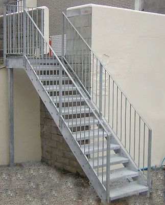 Best Details About Steel Stairs Fire Escape Custom Made To Order 640 x 480