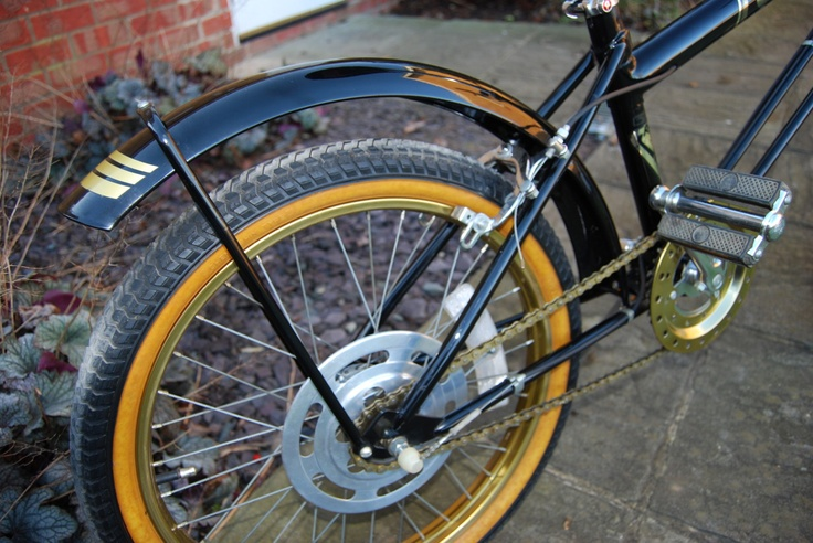 1982 Raleigh Grifter Black and Gold Super
