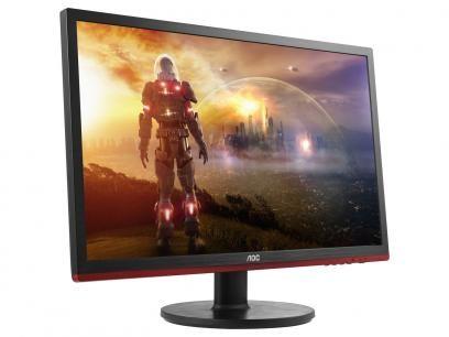 """Monitor AOC Tela LCD/LED 21,5"""" Full HD - Widescreen Speed Gamer com as melhores condições você encontra no Magazine Sartori. Confira!"""