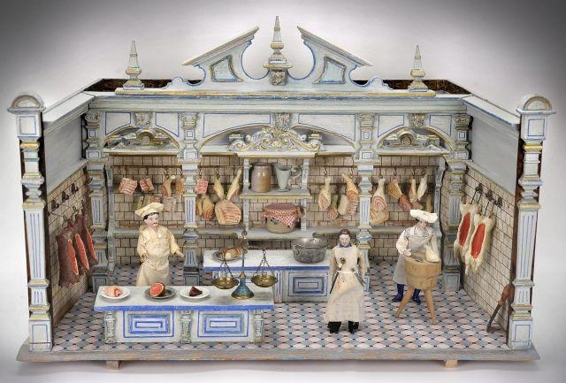 Moritz gottschalk butcher shop it measures 45 x 70 cm miniature butcher shops - Furniture wereld counter ...