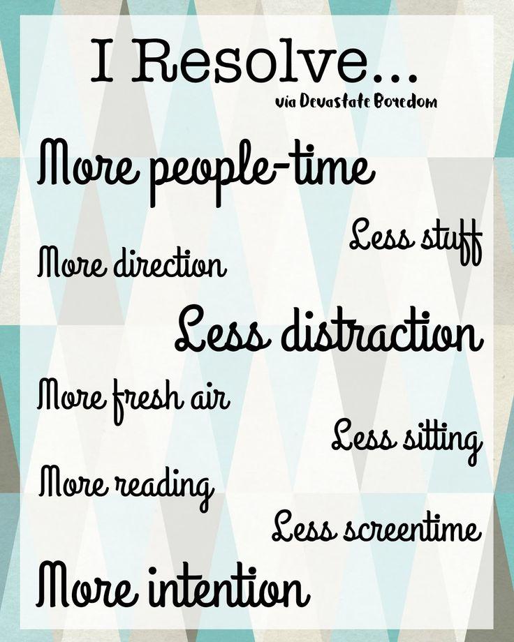 New Year's Resolutions Inspirational Printable via Devastate Boredom -- #FridayFrivolity memes and fun!
