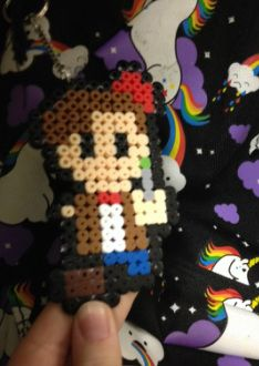 """Eleventh Doctor from Doctor Who ~""""Perler Fun!"""" by Aurelia Knight~"""
