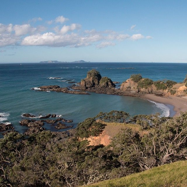Secret Beach around Whananaki.