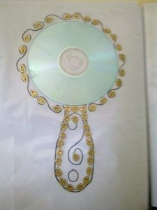 cd mirror crafts for kids