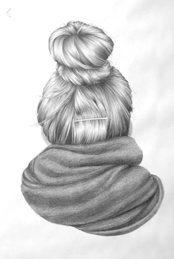 Pictures Of Girls Hair From The Back Drawing Kidskunst Info