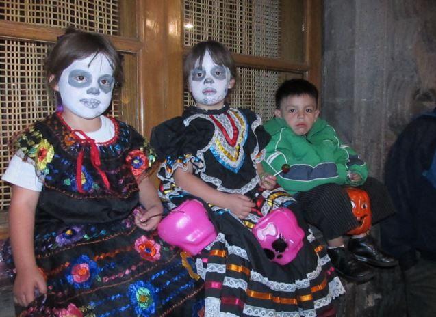 dayofthedead children