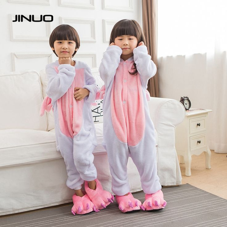 Children Animal Onesie Unicorn Pajamas For Kids Halloween Cosplay Costume For Girls Boys Pijama Infantil Menino #Affiliate