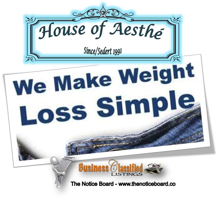 Ok…. So you've tried every diet on the market…… You know that now is the time to make a change in your life!  You don't have time for exercise or money to buy expensive special foods for a diet….. Let me help you to loose weight the easy way… No Special Foods * No Injections * No Side Effects * Minimum Exercise (if any)  What a better way to lose weight?http://www.thenoticeboard.co/classified-western-cape/house-of-aesthe
