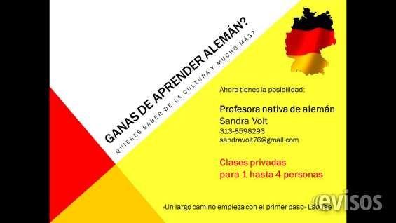 Clases de Alemán en ArmeniaProfesora nativa de Alemania dicta clases privadas en alem .. http://armenia-city.evisos.com.co/clases-de-aleman-en-armenia-id-449585