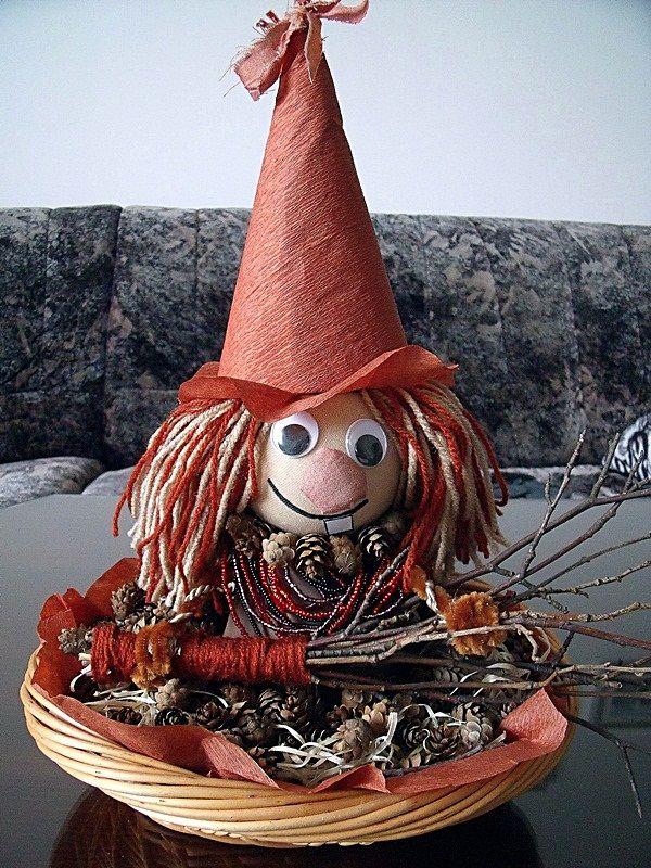 Jarní tvoření s dětmi - Pozdrav všem čarodějnicím :)