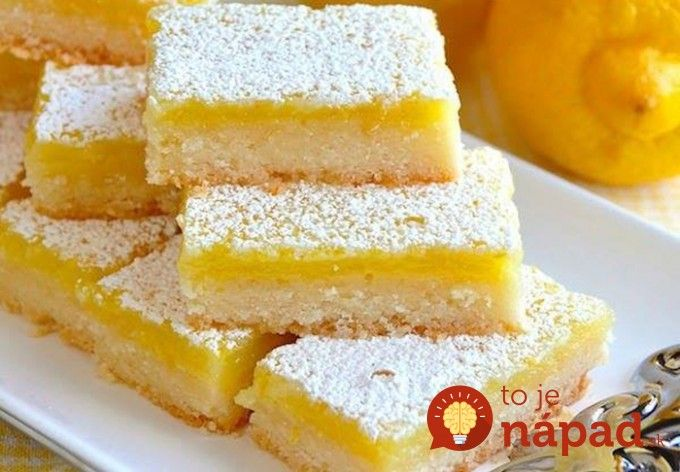 Hrnčekový citrónový koláč