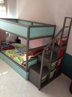 kura bed with crib under - Google Search