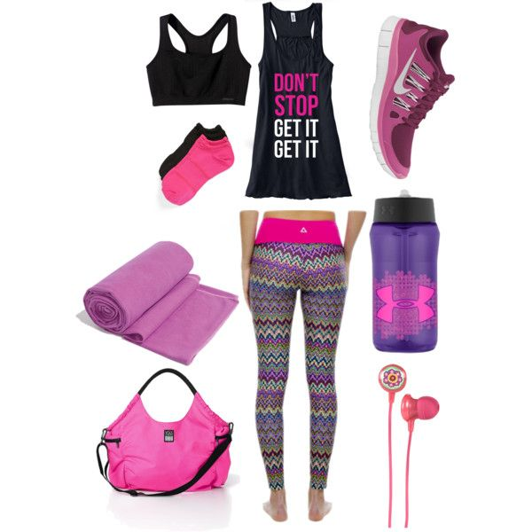 gym clothes | workout clothes for women | athletic wear | fitness clothing | my favorite pink leggings by http://schulmanart.blogspot.com/2014/01/when-artist-works-out.html Find more like this at gympins.com